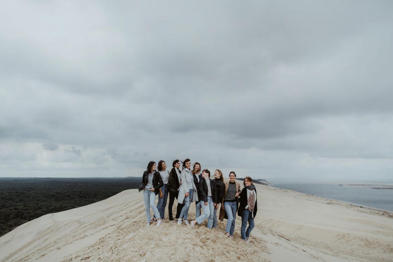 EVJF à la Dune du Pyla entre copines - Photographe à Bordeaux