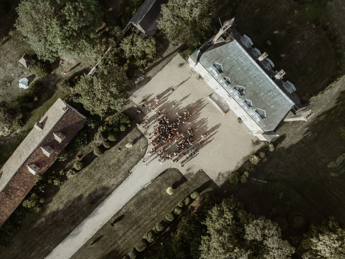 photographe drone manoir prevanche