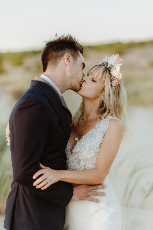 Séance photo après le mariage au Bassin d'Arcachon - photographe Jade Sequeval