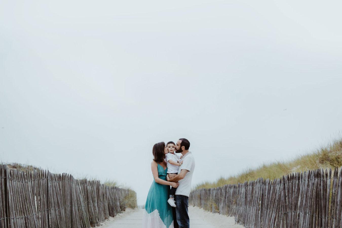 seance photo famille bordeaux plage
