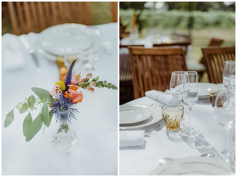decoration table fleurs agence seline bordeaux