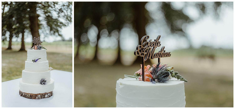 pièce montée mariage decoration cake fleurs
