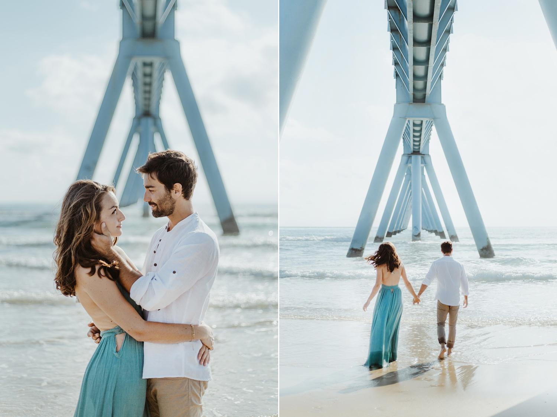 photographe pour séance photo de couple sur le bassin d'arcachon