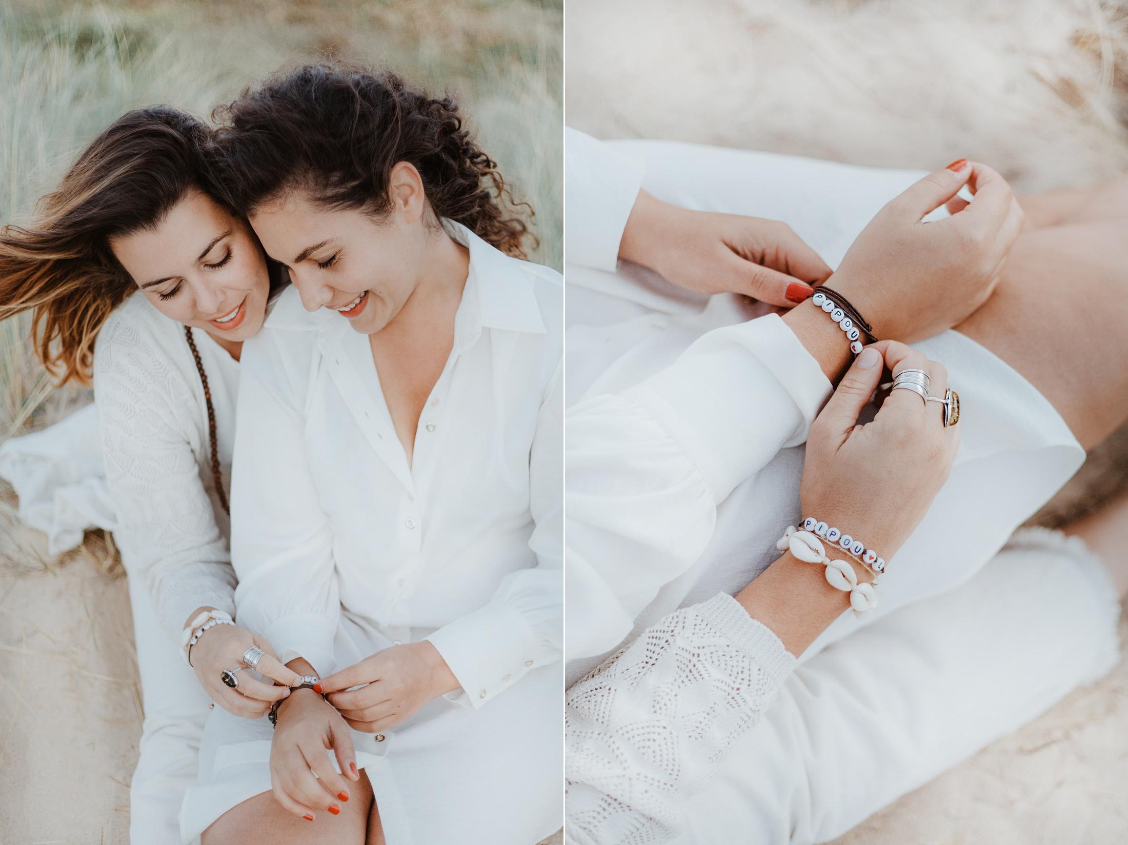 une séance couple sur l'ile d'oléron par la photographe de mariage Jade Sequeval